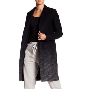 ALLSAINTS Jaiya Coat with Lamb Leather